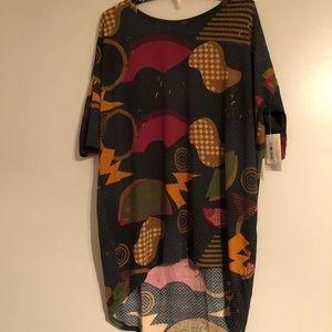 LULAROE abstract t-shirt dress/tunic